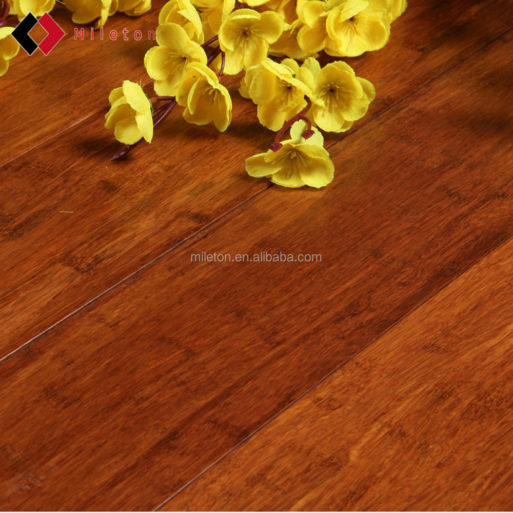 Carbonized/Natural Strand Woven Bamboo Flooring