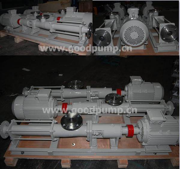 Sand Dredging Pump, Single Screw Pump (Cast Iron, Stainless Steel 304, 316, 316L), Screw Pump for Concrete
