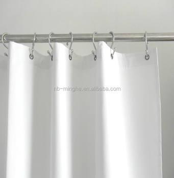 Heavy Duty Flame Retardant Vinyl Shower Curtain