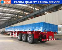 Panda Double Axle 25-30cbm Fly Ash Tank Truck Trailer For Sale ...