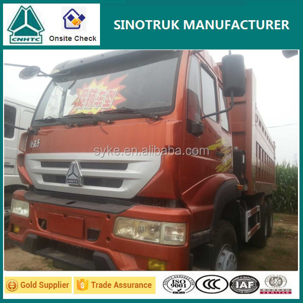 Widely Used Truck 6x4 15-25T Payload Heavy Duty Dump Truck