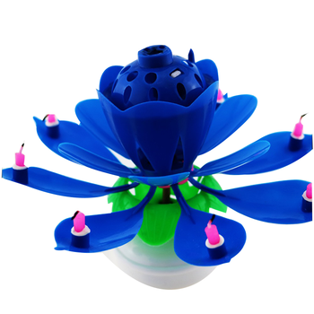 Hot Sale Magic Flower Lotus Candle With Music - Buy Lotus ...