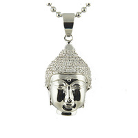 Fashionable and Cute Jewelry Buddha Buddha Head Pendant Bracelet For Good Luck