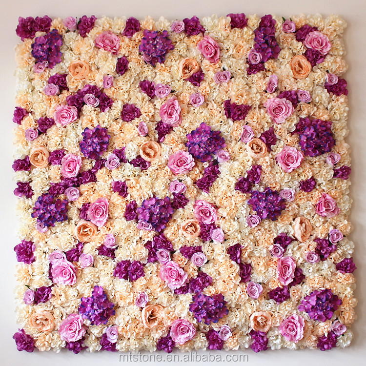 L016252 Fake Silk Rose <strong>Flowers</strong> Artificial Colors Wall Floral Decoration