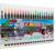 20 colors brush tip art drawing water color marker pen with one white pen