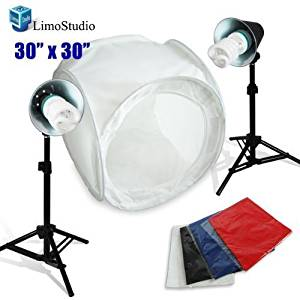 buy cowboystudio table top photo studio light tent kit in a box 1