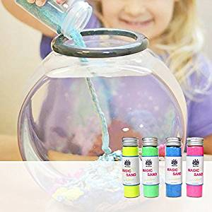 New Mokiki Magic Sand Dry Sand out of the Water Joking Toys Gift for Children By KTOY