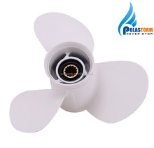 3 Blade Aluminum Alloy Marine Boat Outboard Propeller For Yamaha Engines 25-60HP
