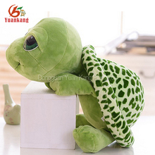 Christmas Wholesale Korean Cute Big Eyes Green Stuffed Sea Animal Turtles Doll Long Leg Mini Soft Turtle Plush Toys