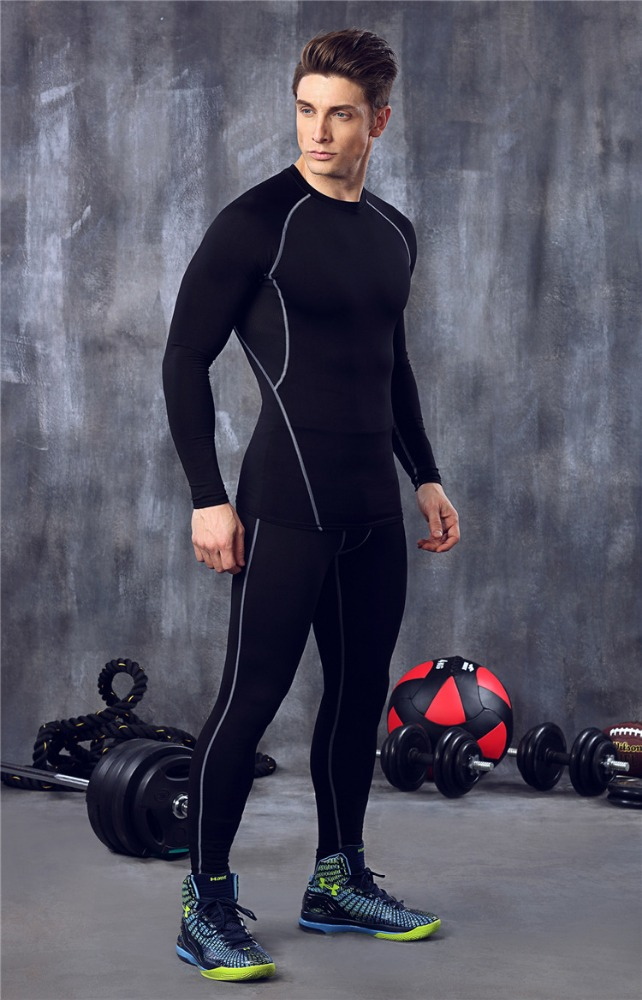 Sports-Compression-Running-Leggings-Gym-Exercise-Lycra