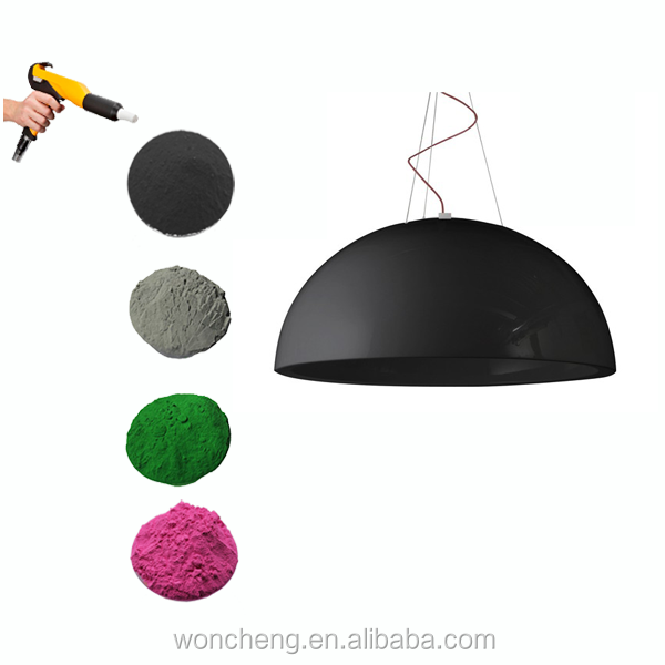 RAL 9005 Black Color Matte Powder <strong>Coating</strong> For Indoor Application