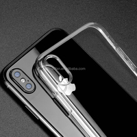 DFIFAN 2017 New coming products ultra slim transparent clear mobile cover for iphone x case