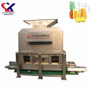 Industrial Professional Pineapple Fruit Peeler and Juicer Machine
