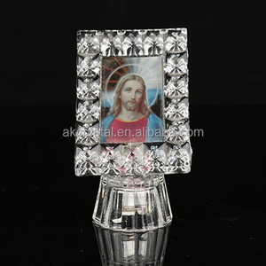 New design islamic gifts crystal electronic photo frame
