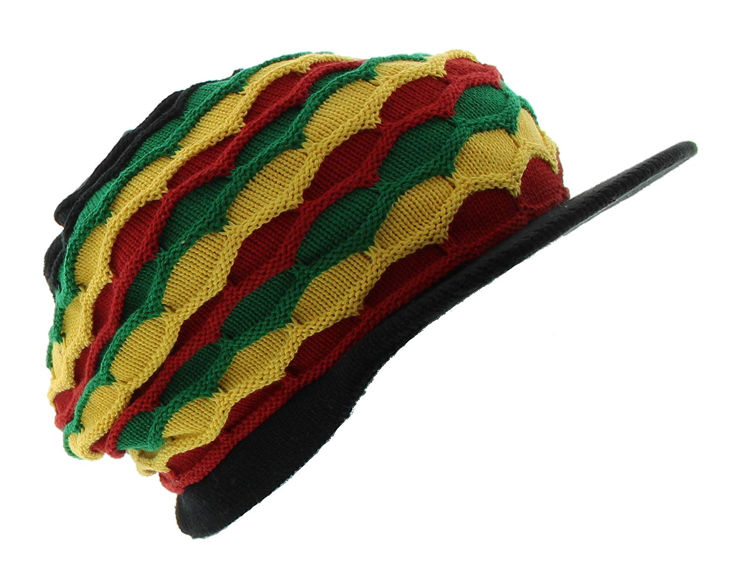 f0aba1830ff Get Quotations · JFH Rasta Dreadlocks Visor Hat Multiple Designs and Colors