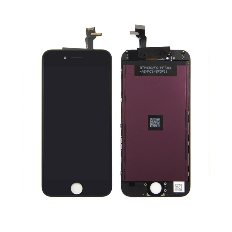 china mobile phone spare parts manufacturer lcd touch screen with digitizer for iphone 6