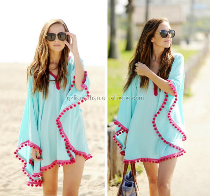 Beautiful Casual Dress For Beach Party Ladies Summer Dress For Fat Woman Short Frock Dress - Buy ...