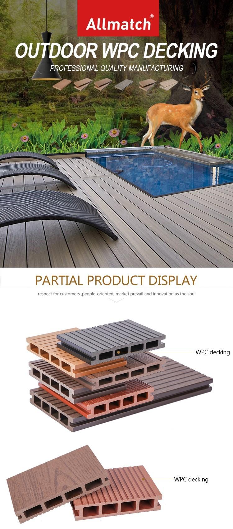 Easy Installation Diy Wpc Deck Tile 300x300 - Buy Click ...