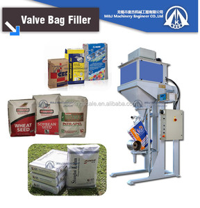 valve bag milk powder packing system 25 kg
