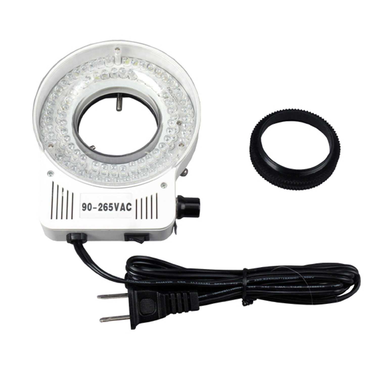 AmScope LED-60S 60 LED Microscope Ring Light with Dimmer