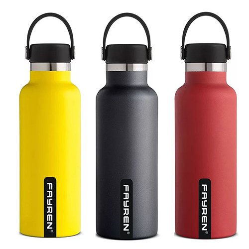 Double wall stainless steel portable leak proof <strong>sports</strong> drinking high quality vacuum insulated water bottle