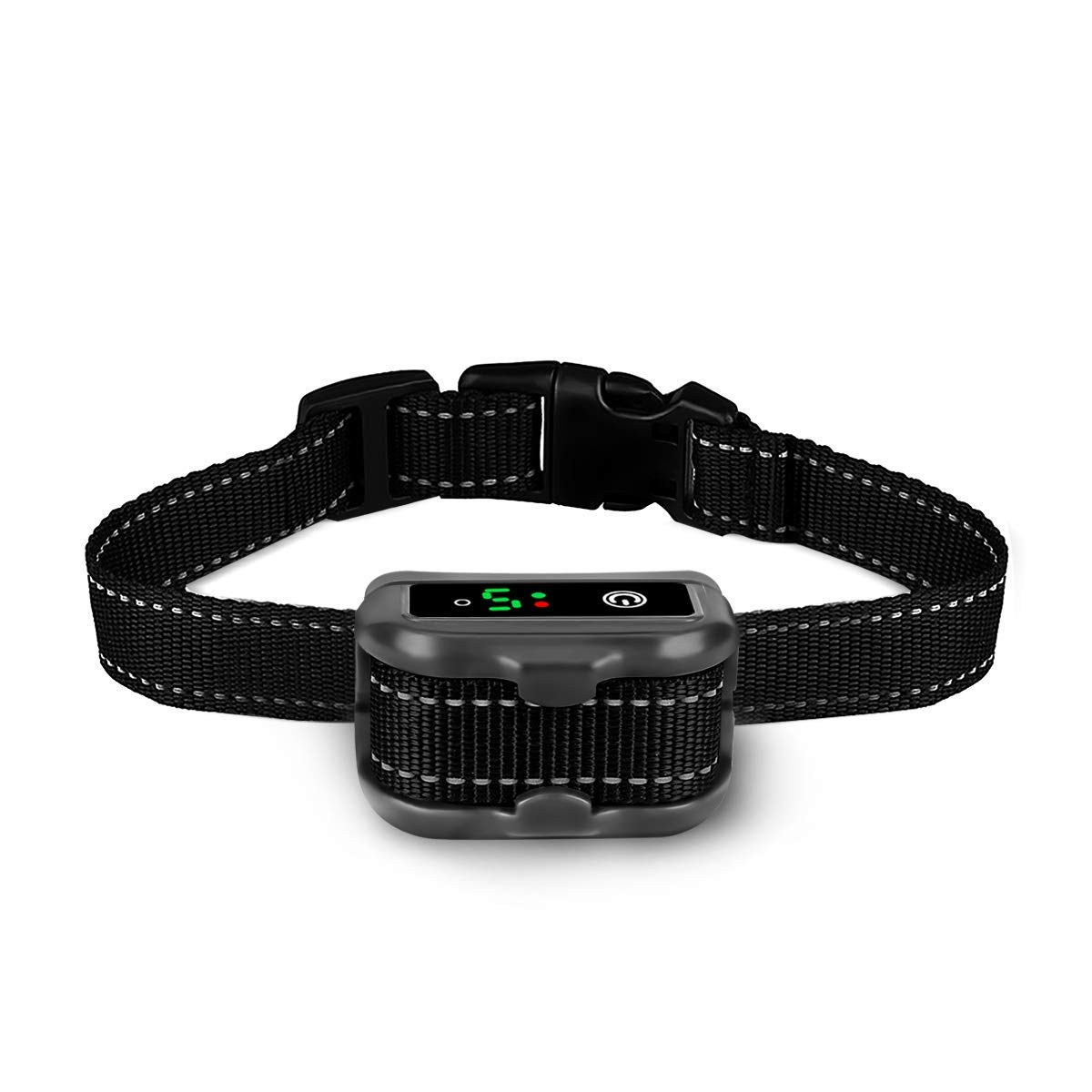 ieGeek Dog Bark Collar Anti Barking Collars Rechargeable No Bark Control Training Device, IP67 Waterproof E-collar with Beep, Vibration Static Shock Mode No Shock Mode for Small Medium and Large Dogs