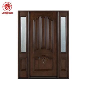 Front Main Entrance Solid Wooden Main Door Design Buy Wooden Main