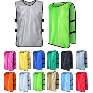 ATK104 Adult/Child Soccer Basketball Team Training Bib Vest Top Sports Clothing Jersey