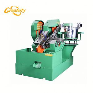 Automatic modified truss head self tapping screw thread rolling machine price in Russia