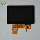 Waterproof customized I2C 5 touch points lcd capacitive 4.3 inch touch screen