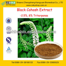 GMP Factory Supply Natural Black Cohosh Extract Triterpene Glycosides