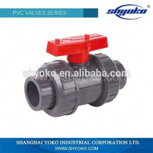 Good Quality Competive Price PVC Double Union Ball Valves