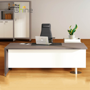 white wood office furniture brown popular white wooden office table modern design executive ceo desk boss furniture ceo
