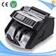 Professional Mix Value Currency Counting Machine UV Detection Money Counter