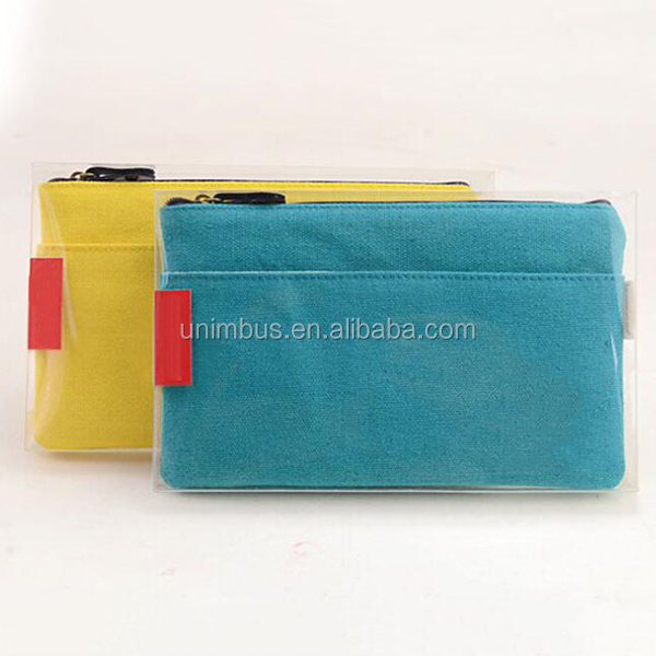 Novel Product Superior Quality Cheap Custom Made Recycle Small Canvas Zipper Bag