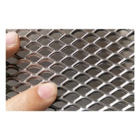 Anodised Decorative and security aluminum expanded wire mesh