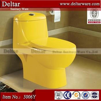 Color Amarillo Inodoro Con Todo Tipo De Estilo Malasia Todo Marca