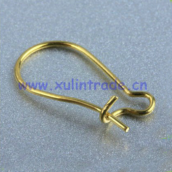 2012 newest style jewelry accessories parts for earring-brass fitting manufacturer HB00295