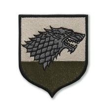Game Of Thrones <span class=keywords><strong>Patch</strong></span> Huis Stark <span class=keywords><strong>Wolf</strong></span> Hoofd John Sneeuw Schrikwolf <span class=keywords><strong>Patch</strong></span>