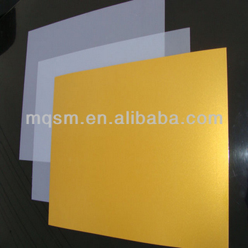 Printable Pvc Sheet 0.3/0.15mm Silvery/ Id Card Material Gold Card ...