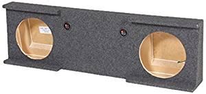 Q Power GMC10 2007 4DOOR Dual 10-Inch Custom Fit Speaker Box for GM/Chevy Crew Cab 4-Door Trucks 2007-2013