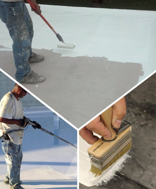 Roof Water Repellent Spray Liquid Silicone Rubber