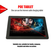 Wall mount 12 inch android tablets 2017 with 1280*800 resolution