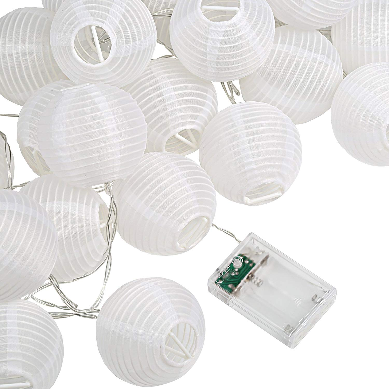 Get Quotations Kesoto 30 Led Lantern String Lights Decorative Stringed Lanterns For Outdoor Indoor