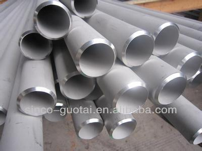 ASTM A778 big side welded stainless steel pipe