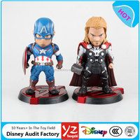 Custom hot sale Egg Attack The Avenger Age of Ultron Juguetes Super Heros Captain America and thor Action Figure