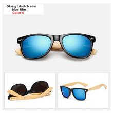 Bambou lunettes de Soleil Hommes Femmes Voyage Lunettes Soleil Lunettes  Vintage En Bois Jambe Lunettes De Mode Marque Design Lun. 20fcdad0d913