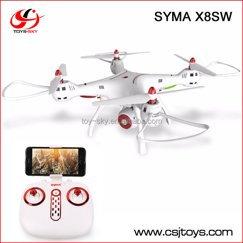 Syma X8SW WIFI FPV With 720P HD Camera 6-Axis Gyro Altitude Hold RC Drone 2.4GHz