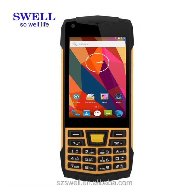 Rugged android 3.5 inch qwerty keypad android 3g ponsel