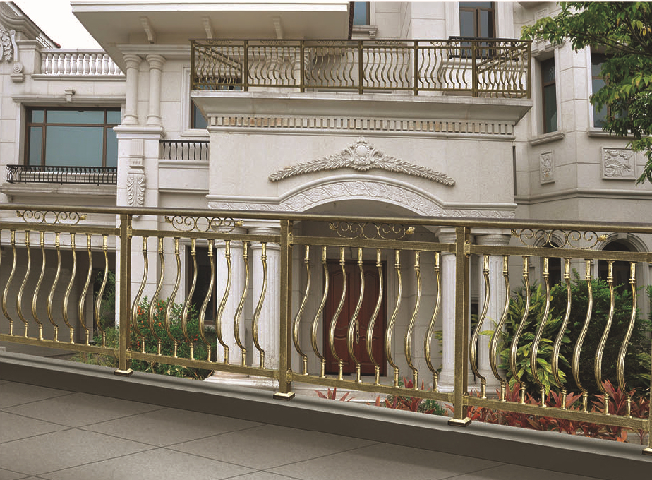 High quality aluminum balcony fence balcony railing for Balcony barrier
